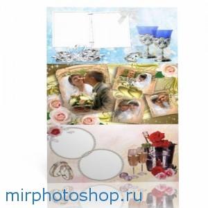 свадебные рамки для фотошопа
