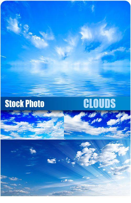 Шаблоны для фотошоп облака
