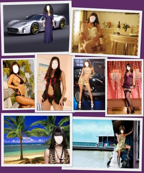 Женские шаблоны для фотошоп
