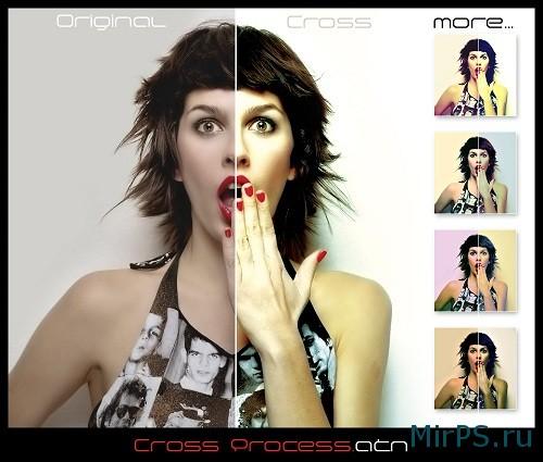 Обработка портрета в фотошопе онлайн