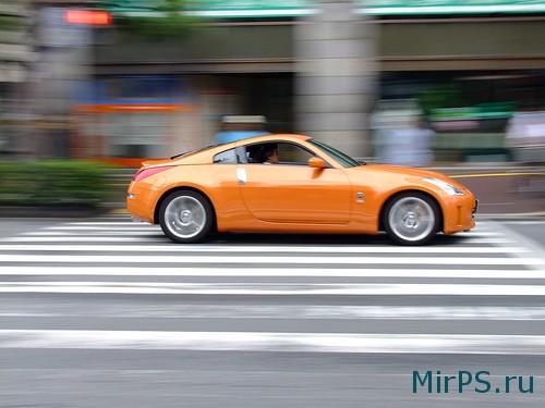 Как создать эффект движения на фото в фотошопе?