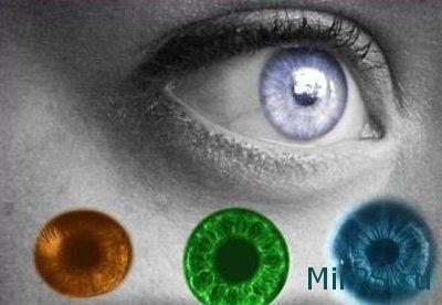 меняем цвет глаз в фотошопе