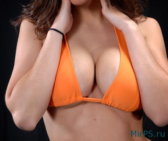 Увеличение груди в фотошоп онлайн