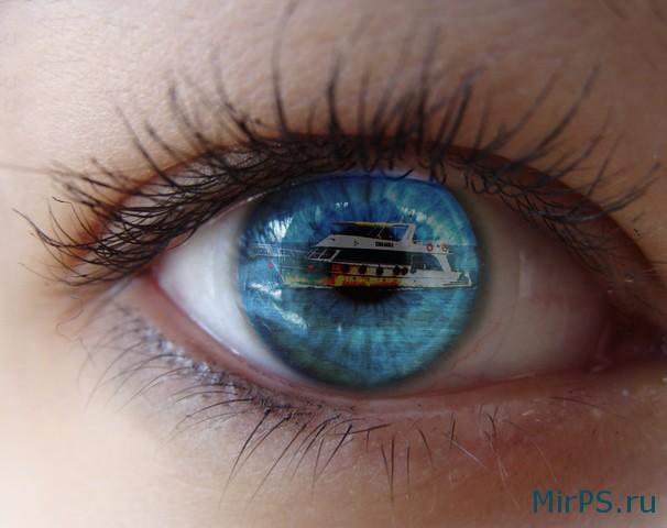 Глаза в фотошопе