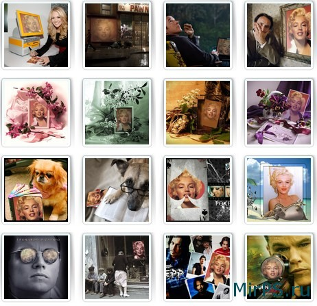Фотоэффекты, рамки для фото онлайн