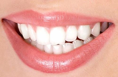 белые зубы в фотошопе